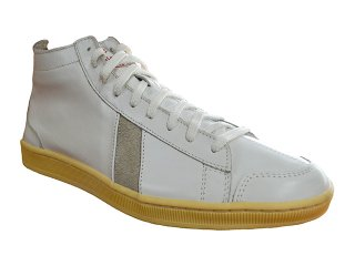 【SAWA】  HIGHCUT SHOES LEATHER (WHITE)