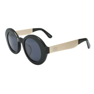 【 SABRE 】 SUNGLASS -UTOPIA- (Black Acetate / Gold /Grey)