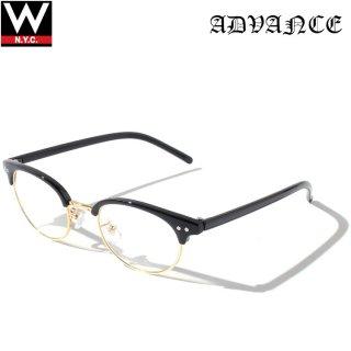 ADVANCE(アドバンス) ボストン タイプ サングラス メガネ