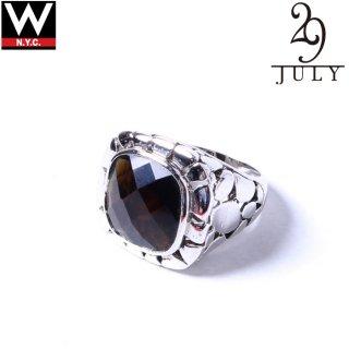 JULY 29(ジュライ 29) 925シルバー ストーン リング