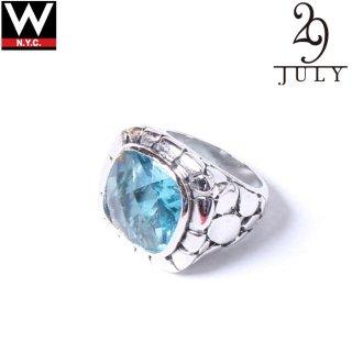 JULY 29 (ジュライ 29) 925 シルバー ストーン リング