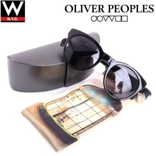 OLIVER PEOPLES(オリバーピープルズ) 偏光レンズ オーバル サングラス