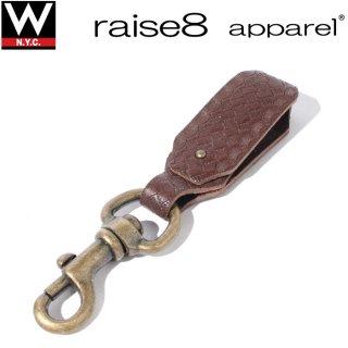 raise8apparel(ライズエイトアパレル) オリジナルパターンレザー キーリング
