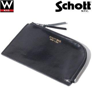 Schott(ショット) レザー コンパクトケース