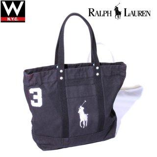POLO RALPH LAUREN(ポロ・ラルフローレン) ビッグポニー キャンバス トートバッグ