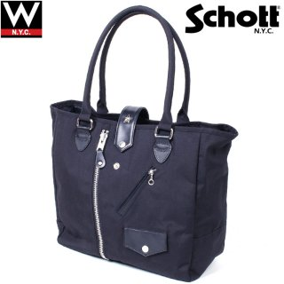 Schott(ショット) ナイロン ワンスター ライダーストートバッグ