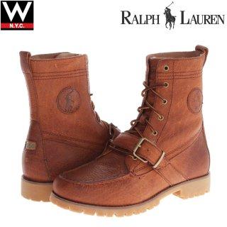 Polo Ralph Lauren(ポロ ラルフローレン) レンジャー レザー ブーツ