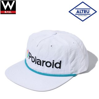 ALTRU(オルトゥルー) ポラロイド ナイロン スナップバックキャップ