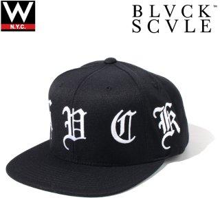BLACK SCALE(ブラック スケール) オリジナル ロゴ スナップバックキャップ