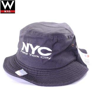CITY HUNTER NEW YORK(シティハンター ニューヨーク) エヌワイシー ロゴ バケットハット