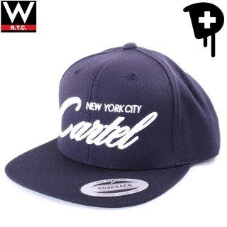 DEALERS NEW YORK(ディーラーズ ニューヨーク) 筆記体ロゴ スナップバックキャップ