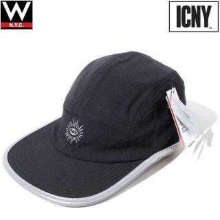ICNY(アイシーエヌワイ) コート 5パネル ストラップバック キャップ