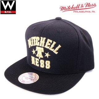 MITCHELL&NESS(ミッチェル&ネス) リバティ ロゴ スナップバックキャップ