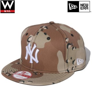 NEW ERA(ニューエラ) ニューヨークヤンキース 迷彩 スナップバックキャップ