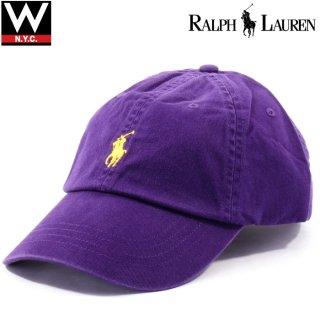 POLO RALPH LAUREN (ポロ・ラルフローレン) ポニーロゴ コットン キャップ