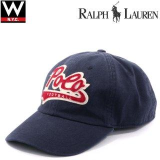 POLO RALPH LAUREN (ポロ・ラルフローレン) スクリプトロゴ 筆記体ロゴ コット