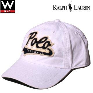 POLO RALPH LAUREN(ポロ・ラルフローレン) スクリプトロゴ 筆記体ロゴ コットン キャップ