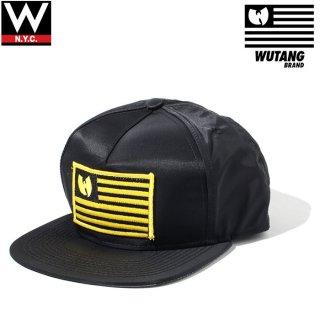 WUTANG BRAND(ウータンブランド) オリジナル ロゴ ナイロン スナップバックキャップ