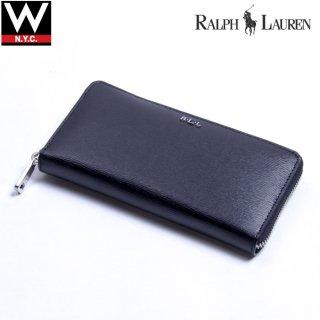 The Ralph Lauren(ラルフローレン) ラウンドファスナー ロング ウォレット 長財布