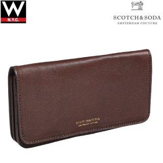 SCOTCH&SODA(スコッチ&ソーダ) ビッグ レザー ウォレット 長財布