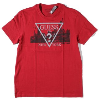 GUESS(ゲス) オリジナルデザイン ロゴ 半袖 Tシャツ