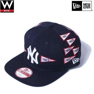 NEW ERA(ニューエラ) スパイクリー コレクション フラッグ ニューヨークヤンキース スナップバックキャップ
