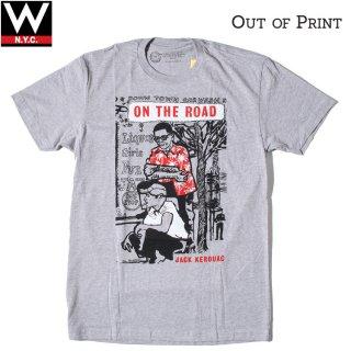 Out of Print(アウトオブプリント) オン・ザ・ロード 半袖 Tシャツ