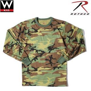 ROTHCO(ロスコ) ミリタリー ビンテージ 長袖 Tシャツ