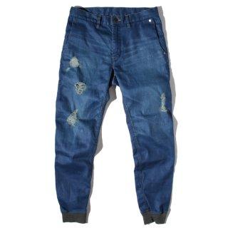 BLUEY (ブルーイ) スリムフィット クラッシュ ストレッチ デニム パンツ