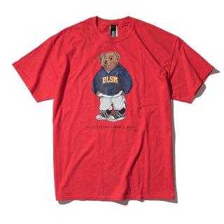 DLSM(ディーエルエスエム) ベアー プリント 半袖 Tシャツ