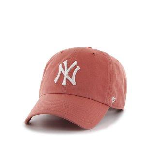 47brand(フォーティセブン ブランド) ニューヨーク ヤンキース '47 クリーン アップ 6パネル ストラップバックキャップ