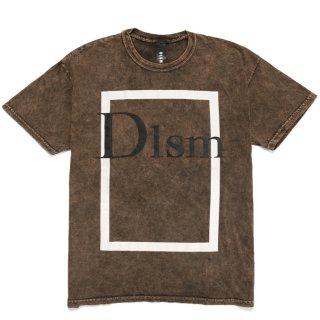 DLSM(ディーエルエスエム) スクエアー プリント 半袖 Tシャツ