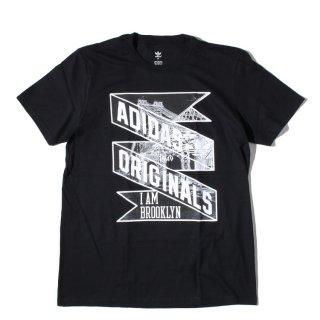 adidas(アディダス) オリジナル グラフィック プリント 半袖 Tシャツ