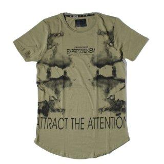 NO BRAND(ノーブランド)  オリジナル グラフィック プリント デザイン 半袖 Tシャツ