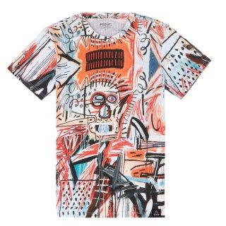 ELEVEN PARIS(イレブン パリ) バスキア グラフィック プリント 半袖 Tシャツ