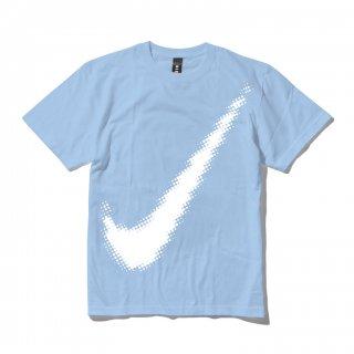 DLSM(ディーエルエスエム) エイトビット ビック ロゴ プリント 半袖 Tシャツ