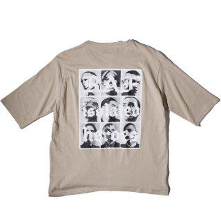 ADVANCE(アドバンス) サンプリング デザイン 7分丈 Tシャツ