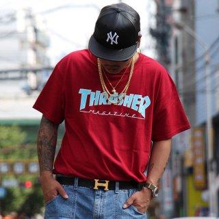 THRASHER(スラッシャー) オリジナル ロゴ デザイン 半袖 Tシャツ