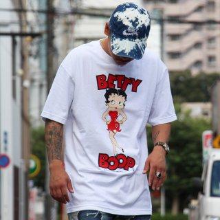 ベティー ブープ プリント デザイン 半袖 Tシャツ