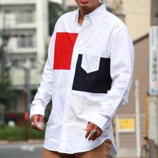 GANT Rugger(ガント ラガー) キックアス オックスフォード プリント ブロック ボタンダウンシャツ ク