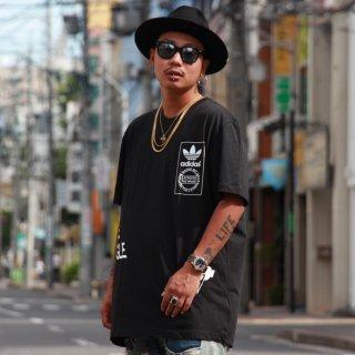 adidas(アディダス) ストリート ロング 半袖 Tシャツ