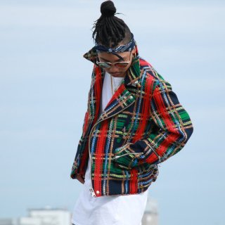 Birvin Uniform(バービンユニフォーム) ウール ライダース