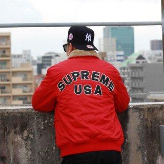 Supreme(シュプリーム) キルティング ナイロン タンカー ジャケット