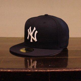 NEW ERA(ニューエラ) ニューヨークヤンキース フィフティナインフィフティー ベースボールキャップ グレーブリム
