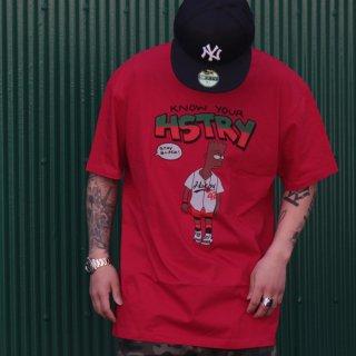 HSTRY(ヒストリー) ノウ ユア ヒストリー デザイン 半袖 Tシャツ
