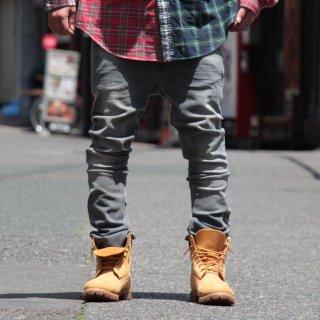 Nudie Jeans(ヌーディージーンズ) チューブトムバック トゥー グレー デニムパンツ