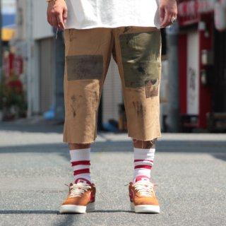 Custom lifestyle by hamid holloman(カスタム ライフスタイル バイ ハミッド ホロマン) パッチ ツイル チノ ショーツ