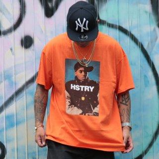 HSTRY(ヒストリー) ポートレート プリント 半袖 Tシャツ
