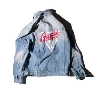 GUESS(ゲス)1981 オーバーサイズ デニム トラッカー ジャケット