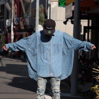 re:new(リニュー)リーバイス ヴィンテージ リメイク ワイド&ビック デニム シャツ<br>re:new Levi's Vintage Remake Big&Wide Shirts 【h】